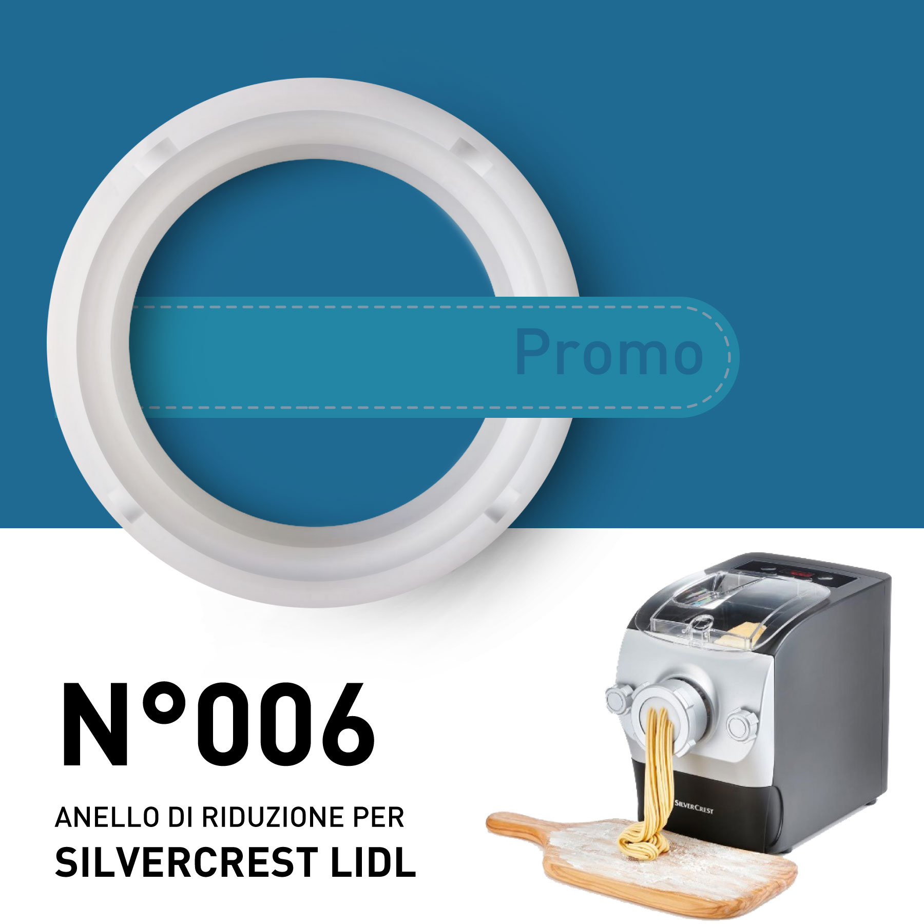 Reduction Rings N006 For Silvercrest Lidl Promotion